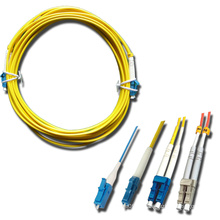 LC / PC Singlemode Multimode Fiber Optic Patchcord